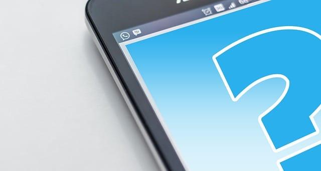 Question par SMS
