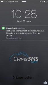 Plugin envoi SMS WordPress